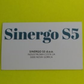 Profile picture of SINERGO S5 D.O.O.