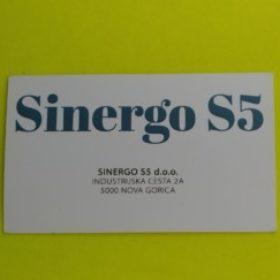 Profile picture of SINERGO S5 D.O.O.